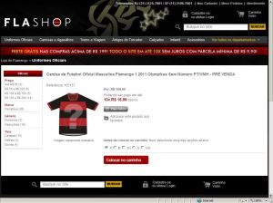 Pré-venda da nova camisa do Flamengo 2011