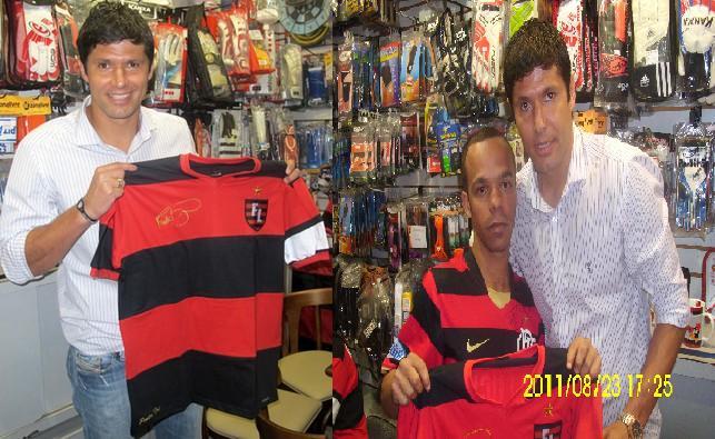 Estivemos presente hoje no lançamento da linha do Fábio Luciano na loja  Cavacas Sport no Centro do Rio de Janeiro. A camisa é linda demais e claro  que eu ... a8449def41b26
