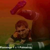 Flamengo 1 x 1 Palmeiras - Campeonato Brasileiro 2011