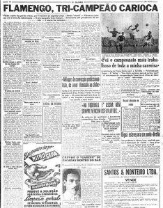 A História do Clube de Regatas do Flamengo - A década de 50
