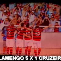Flamengo 5 x 1 Cruzeiro - Campeonato Brasileiro 2011