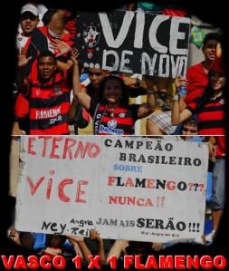 Vasco 1 x 1 Flamengo - Campeonato Brasileiro 2011