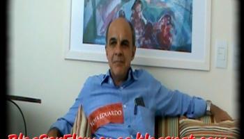 d6b351b419 Eleição do Flamengo 2012  Entrevista com o candidato  Eduardo Bandeira de  Mello