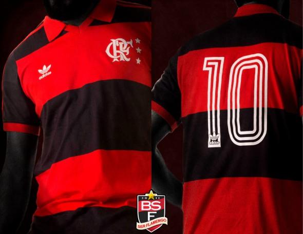 3d6b7983d55db4 Depois das réplicas das camisas do Palmeiras, Fluminense e os modelos das  seleções da Copa, é a vez do Flamengo receber uma edição especial assinada  pela ...