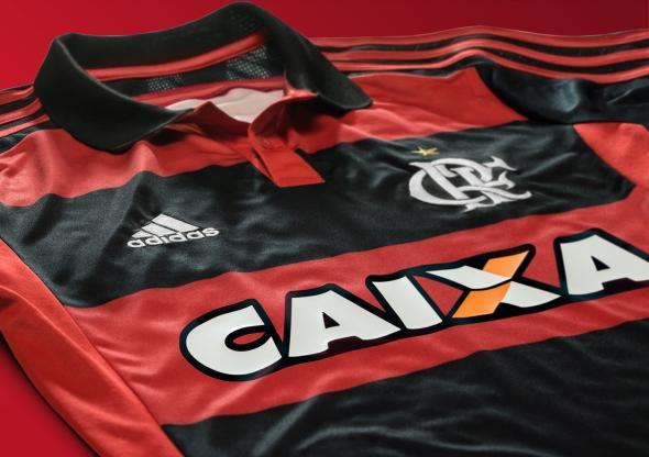adidas e Flamengo apresentam ao mundo novo Manto Rubro-negro - Blog ... 07607db9898a2
