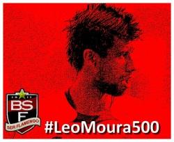 #LéoMoura500