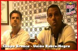 Entrevista com Haroldo Couto e Cacau Cotta - Chapa Branca - União Rubro-Negra