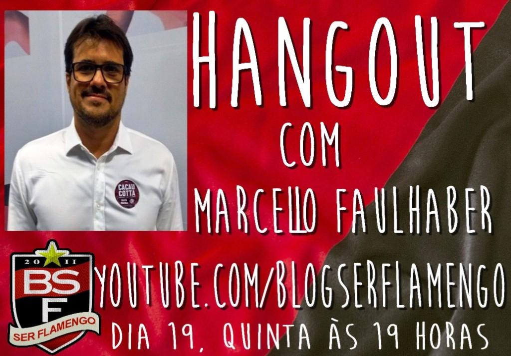 hangout com Marcello Faulhaber