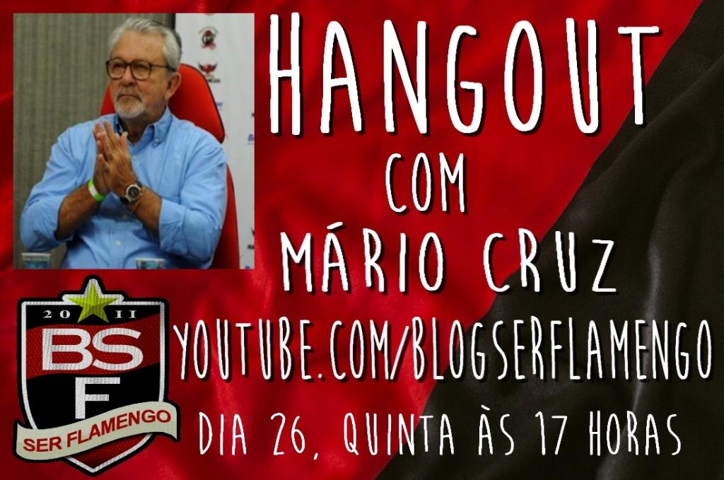 Hangout com Mario Cruz