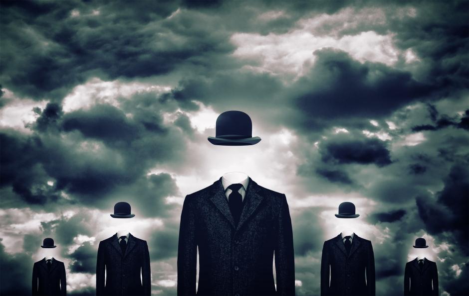 Homens sem Rosto - Conceito de Anonimato